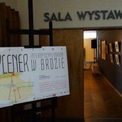 Wernisaż wystawy prac z Pleneru Interdyscyplinarnego w Brdzie