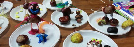 WDK Raciąż: Dzieci tworzyły jesienne postaci