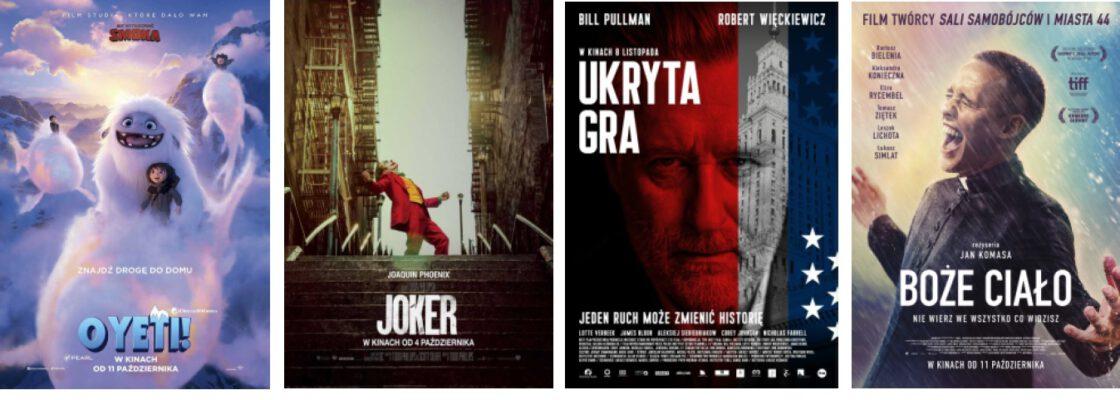 Kino: O Yeti!, Joker, Ukryta gra, Boże Ciało