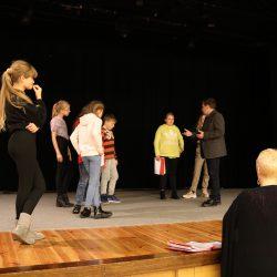 Próby do spektaklu Bajtucha
