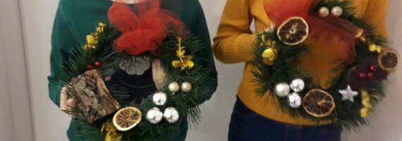 Kreatywne stroiki świąteczne