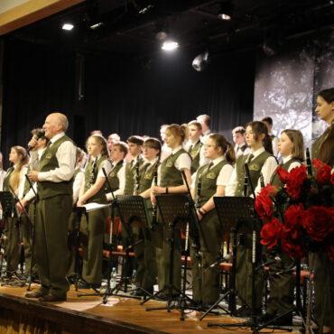 Walentynkowy koncert Reprezentacyjnej Orkiestry Lasów Państwowych – ZDJĘCIA