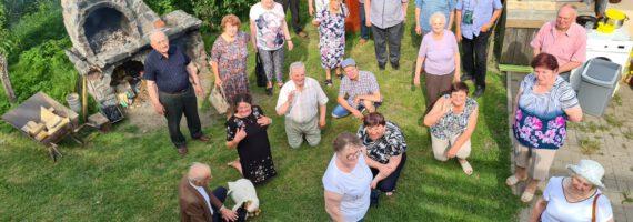Seniorzy powitali lato w Borkach