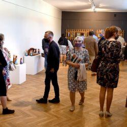 Zdjęcia: Wystawa prac Zygmunta Kędzierskiego z okazji Jubileuszu 50-lecia twórczości
