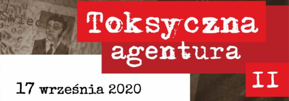 Toksyczna agentura II – promocja książki A. Węsierskiego
