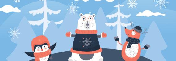 """Szczegółowy program – """"Kreatywne ferie zimowe z TOK"""" – online dla dzieci"""