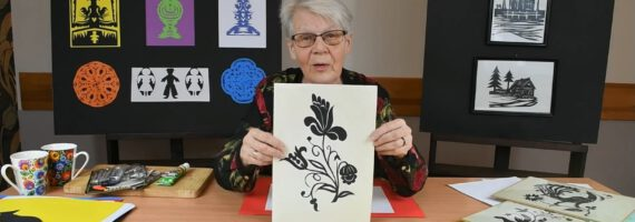 Wycinanki z papieru w wykonaniu Marii Ollick