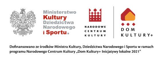 """TOK wśród beneficjentów programu """"Dom Kultury+ Inicjatywy lokalne 2021"""""""