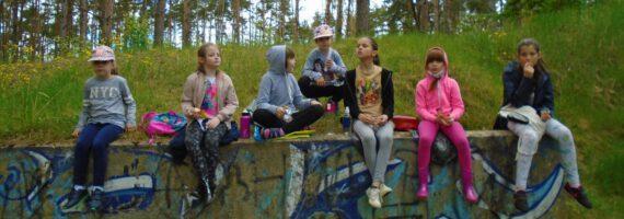 Przyjazny Kąt: Akcja sprzątania lasu