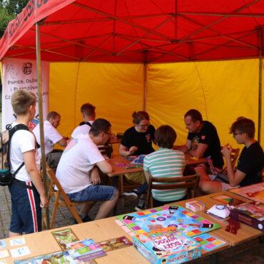 Planszówki Zamkowe – letni gamesroom z Klubem K20