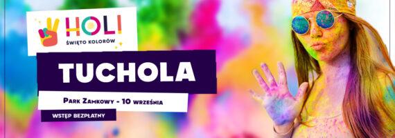 Święto Kolorów HOLI w Tucholi
